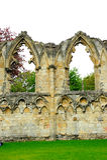 St Mary y x27; abadía de s en la ciudad de York, Inglaterra, Reino Unido Imagenes de archivo