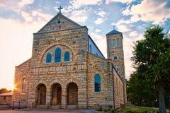 St Maryjny kościół katolicki 1 zdjęcie royalty free