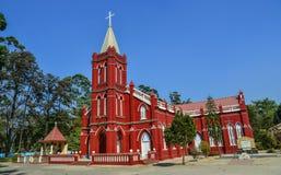 St Maryjny kościół w Pyin Oo Lwin obrazy royalty free