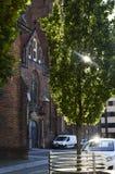 St Maryjny Magdalene kościół w Wrocławskim, Polska obrazy stock