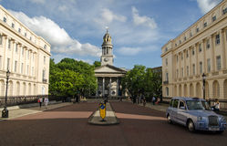 St Marylebone Parish Church, London Royalty Free Stock Photo