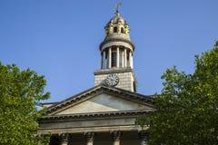 St. Marylebone Parish Church in London Stock Photography