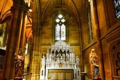 St Marys大教堂悉尼 免版税库存照片