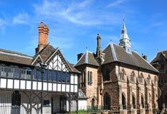 St Marys小修道院庭院大厦,考文垂 库存照片
