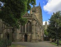 St Marys教会诺丁汉 图库摄影