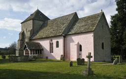 St Marys诺曼底人教会 免版税库存图片