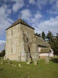 St Marys诺曼底人教会 库存照片