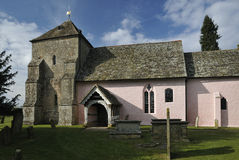 St Marys诺曼底人教会 库存图片