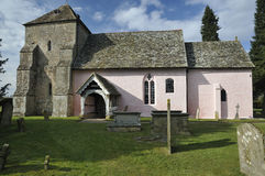 St Marys诺曼底人教会 免版税库存照片