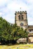 St Marys,下面的Alderley教区教堂在彻斯特 库存照片