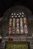 St Marys,下面的Alderley教区教堂在彻斯特 免版税图库摄影