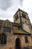 St Marys,下面的Alderley教区教堂在彻斯特 免版税库存照片