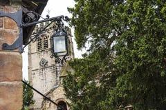ST Marys, κάτω εκκλησία κοινοτήτων Alderley σε Τσέσαϊρ Στοκ εικόνες με δικαίωμα ελεύθερης χρήσης