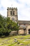 ST Marys, κάτω εκκλησία κοινοτήτων Alderley σε Τσέσαϊρ Στοκ Φωτογραφίες