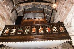 ST Marys, κάτω εκκλησία κοινοτήτων Alderley σε Τσέσαϊρ Στοκ φωτογραφία με δικαίωμα ελεύθερης χρήσης