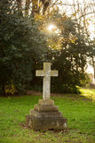 St Marys Anglican Church Cemetery Royalty Free Stock Photography