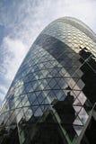 St marys axe city of london england Stock Photo