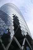 St marys axe city of london uk (gherkin) Stock Photo