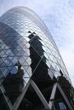 St marys axe city of london uk (gherkin) Stock Photo