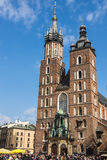 St. Marys Basilica in Krakow Royalty Free Stock Photography