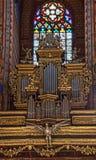 St Marys Basilica Organ Krakow Royalty Free Stock Images