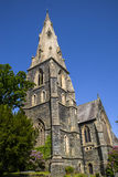 St. Marys Church in Ambleside. A view of the beautiful St. Marys church in Ambleside, Cumbia Royalty Free Stock Photography