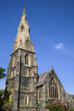 St. Marys Church in Ambleside. A view of the beautiful St. Marys church in Ambleside, Cumbia Royalty Free Stock Photos