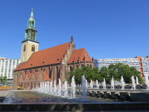 St Marys Church, Berlin Royalty Free Stock Images