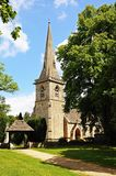 St Marys Church, Lower Slaughter. Royalty Free Stock Image