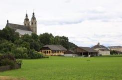 St Marys Church in Maria Saal, Austria Stock Photo