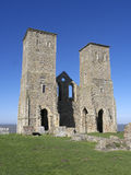 St Marys Church, Reculver, Kent, Stock Photo