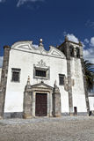 St Mary's Church in Serpa, Portugal Stock Images