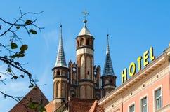 St. Mary's Church in Torun, Poland. Stock Photo