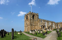 St. Marys church in Whitby Royalty Free Stock Images