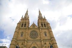 St. Marys Katedralny Sydney, Australia Obraz Royalty Free