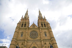 St. Marys Kathedraal Sydney, Australië Royalty-vrije Stock Afbeelding