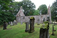 St. Marys Kirk, Auchindoir Royalty Free Stock Photo
