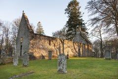 St Marys Kirk near Rhynie in Scotland. Stock Photo