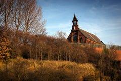 St Marys kyrkliga stockport Royaltyfria Foton