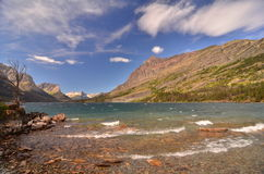 St Marys Lake, Glacier Park, Montana Royalty Free Stock Images