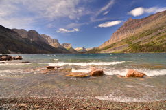 St Marys Lake, Glacier Park, Montana Stock Photos