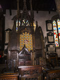 St Marys, Lancaster Priory Church is close by the Castle above the city in England Stock Photography