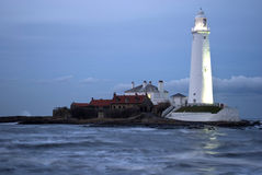 St Marys Lighthouse Royalty Free Stock Images
