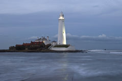 St Marys Lighthouse Stock Photo