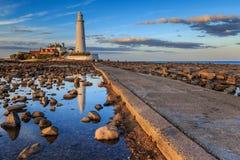 Free St Marys Lighthouse Stock Images - 81144824