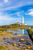 St. Marys Lighthouse Royalty Free Stock Photography