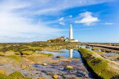 St. Marys Lighthouse Stock Photos