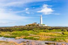 St. Marys Lighthouse Royalty Free Stock Image