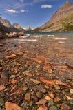 St Marys Meer, het Park van de Gletsjer, Montana Royalty-vrije Stock Foto