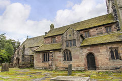 St Marys, Nether Alderley Parish Church in Cheshire Royalty Free Stock Photography